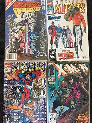 X-Men 266 New Mutants 99 100 Masters Of The Universe 2
