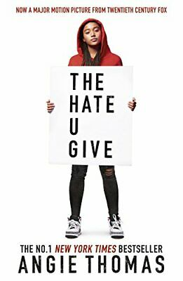 The Hate U Give by Thomas, Angie Book The Fast Free Shipping