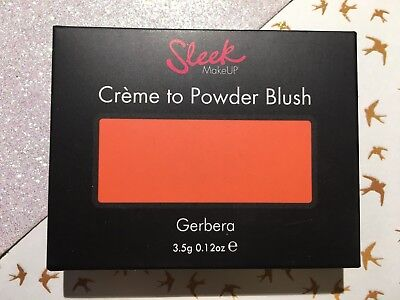 Sleek MakeUP Creme to Powder Blush  Gerbera  3.5 g