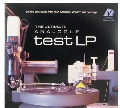 Analogue Productions The Ultimate Test LP 180g