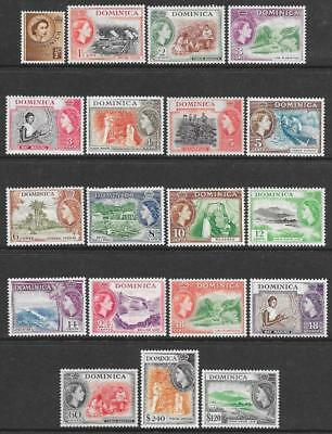 Dominica 1954-62 Set (Mint)
