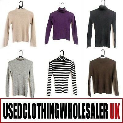 41 Women's Ribbed Sweaters Jumpers Polo & Turtleneck Wholesale Winter Clothing