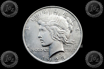US / UNITED STATES 1 DOLLAR 1923 ( PEACE Dollar ) SILVER Comm. coin (KM#150) XF+