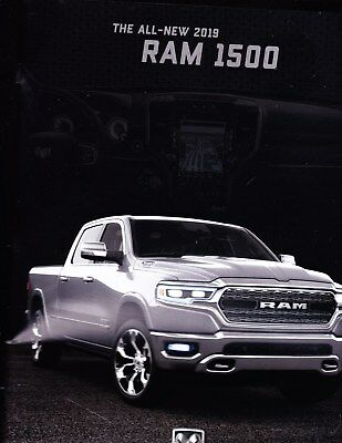 2019 Dodge Ram 1500 Pickup Truck Factory Original Sales Brochure  64 Pages
