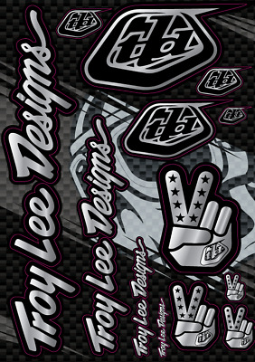 TROY LEE DESIGNS DECALS STICKERS TLD Mx Motocross Dirt Bike Racing Bomb ATV A4