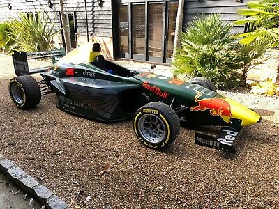 2013 Aston Martin Racing Fabrications Liveried Car With A Ford Zetec/ Hewland Lg