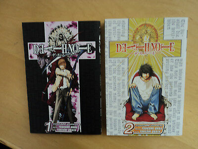 Deathnote Manga # 1 and 2 NM