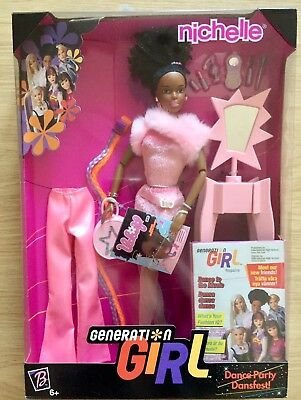 Generation Girl Nichelle Dance Party Barbie 1999 - Brand new in box
