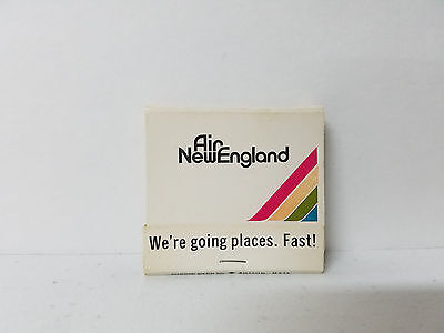 Vintage Air New England Airlines Matchbook