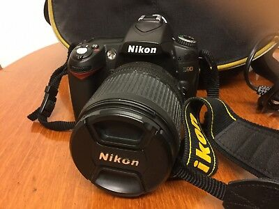 Nikon D90 Camera And Accesories Zoom Lense 18-105mm