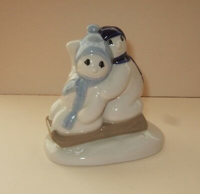 Wade Pottery Christmas Models - Snow Children 1996