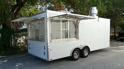 """""""BRAND NEW"""" 8'6"""" WIDE x 20' LONG CONCESSION TRAILER - FOOD TRAILER FOR SALE"""