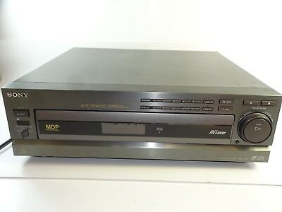 Sony MDP-605 Stereo Laserdisc Laser Disc Player ~ AS IS FOR PARTS OR REPAIR
