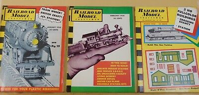 Railroad Model Craftsman Magazine Complete Year 1958  12 issues