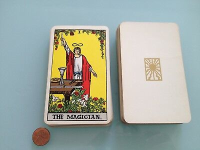 1971 Vintage ALBANO WAITE incomplete TAROT CARD DECK w/ 68 cards RARE well used