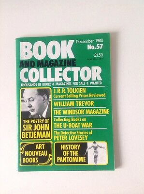 BOOK AND MAGAZINE COLLECTOR  - No 57 - BETJEMAN, TOLKIEN, PANTOMINE