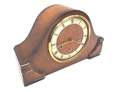 Vintage SMITHS Art Deco Style Design Mantel CLOCK With Key FAULTY - M30