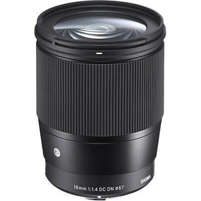 Sigma 16mm F/1.4 DC DN Contemporary Lens Micro 4/3 Mount - 4 YEAR USA WARRANTY