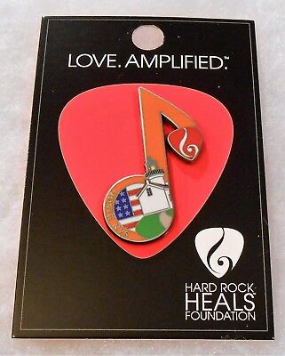 Hard Rock Cafe San Diego Hard Rock Heals Foundation Music Note Pin # 89629