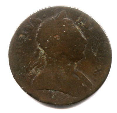 1777? Contemporary Non Regal Halfpenny - Very Funny Date!