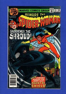 Spider-Woman #13 Nm 9.4/9.6 High Grade Bronze Age Marvel