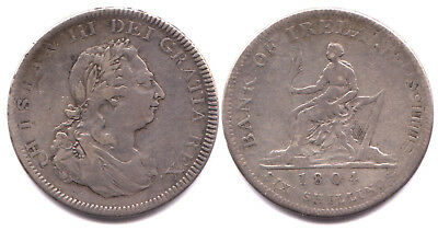 1804 Bank Of Ireland Dollar - 8 Reales Undertype Shows Well - Rare
