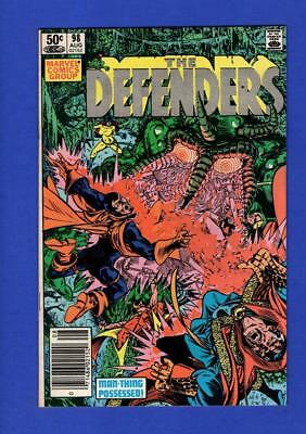 Defenders #98 Vf/nm 9.0 High Grade Bronze Age Marvel