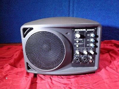 Mackie SRM150  Stage Monitor Compact  PA System  Keyboard  Vocal instrument