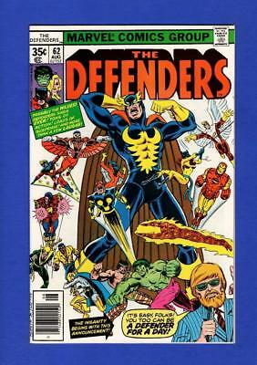 Defenders #62 Nm 9.4/9.6 High Grade Bronze Age Marvel
