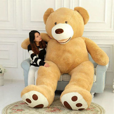 """37"""" Huge Giant Teddy Bear Stuffed Plush Toys Kids Holiday ctue Gift 100cm 3.28ft"""