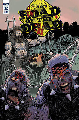 Road Of The Dead Highway To Hell #2 Cvr B Moss - 12/5/18
