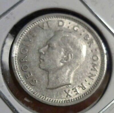 3 PENCE 1940 UNC NNC Great Britain
