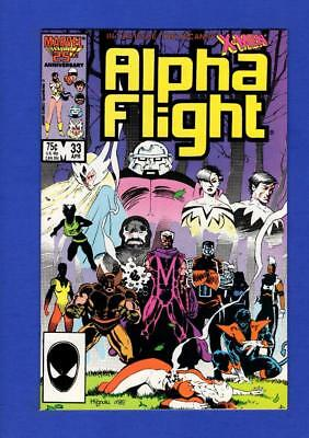 Alpha Flight #33 Nm+ 9.6/9.8 High Grade Bronze Age Key 1St App. Lady Deathstrike