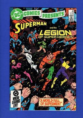 Dc Comics Presents #80 Superman Nm+ 9.6/9.8 High Grade Copper Age Dc
