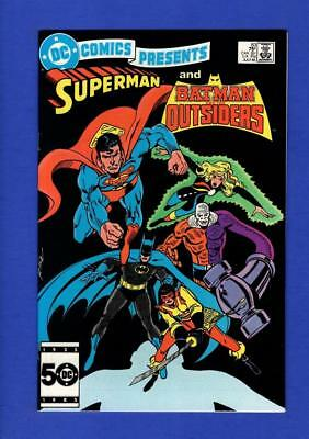 Dc Comics Presents #83 Superman Nm+ 9.6/9.8 High Grade Copper Age Dc