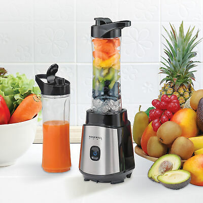 Personal Blender Smoothie Juice Shakes Mixer 2 Portable Bottle 300W BPA-Free New