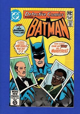 Detective Comics #501 Batman Nm 9.4/9.6 High Grade Bronze Age Dc