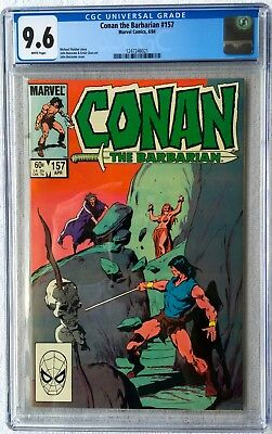 Cgc 9.6 Conan The Barbarian #157 .. John Buscema Cover & Art ..
