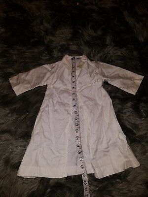 Vintage Lord & Taylor White Ivory Baby infant Christening Gown baptism outfit