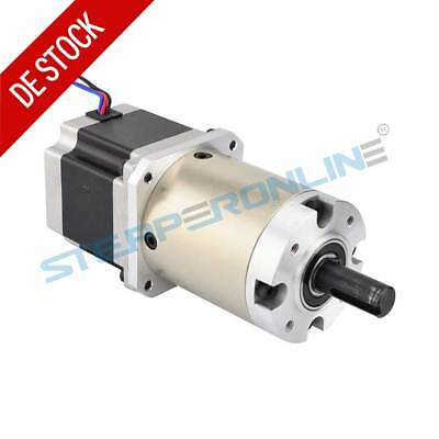 47:1 Planetary Gearbox Nema 23 Stepper Motor 2.8A 4-lead CNC Mill Lathe Router