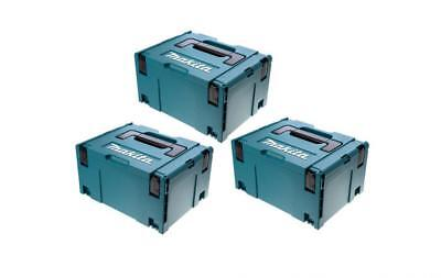 Makita Makpac 821551-8 Type 3 Stacking Systainer Case X 3 Brand New
