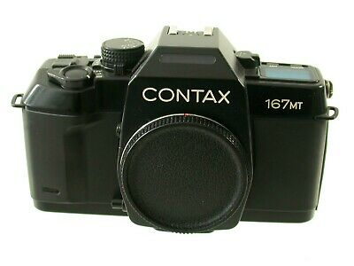 CONTAX 167 MT slr body Gehäuse 35mm analog display defective DEFEKT AS IS /18