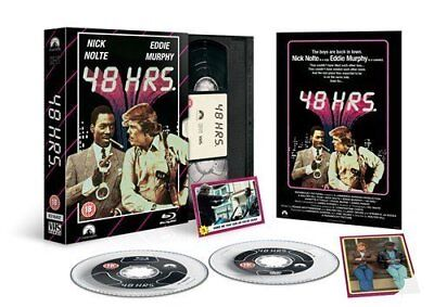 New Blu Ray Film + Dvd Discs * 48 Hrs Hours * Limited Ed. Vhs Pack + More
