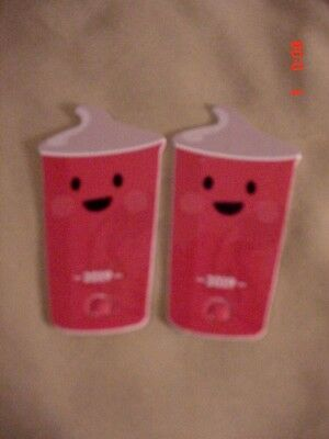 2 Wendys 2019 Frosty Key Tag Collectable Key Tag~Free Frosty w/Purchase ~