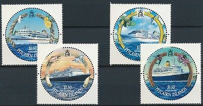 [H15078] Pitcairn Islands BOATS & SHIPS Good set of stamps very fine MNH