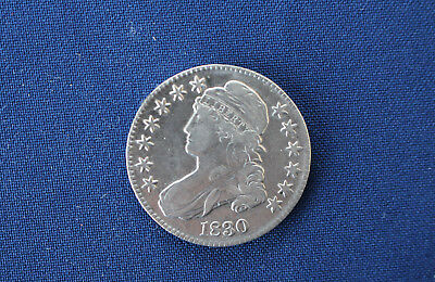 1830 Capped Bust Silver Half Dollar Great Type Coin M1071