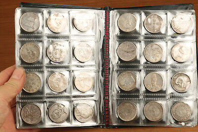 ancient 120 PLATE-SILVER COINS IRON COMMEMORATIVE CHINESE MONEY  COLLECTION