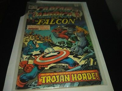 Captain America And The Falcon Comic Issue 194 February 1976