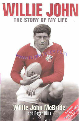 Willie John McBRIDE Ireland & British Lions RUGBY BOOK 2004 The Story of My Life