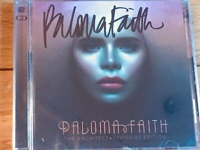 Paloma Faith Architect Zeitgeist Signed Cd Edition Proof Provided-New+Sealed